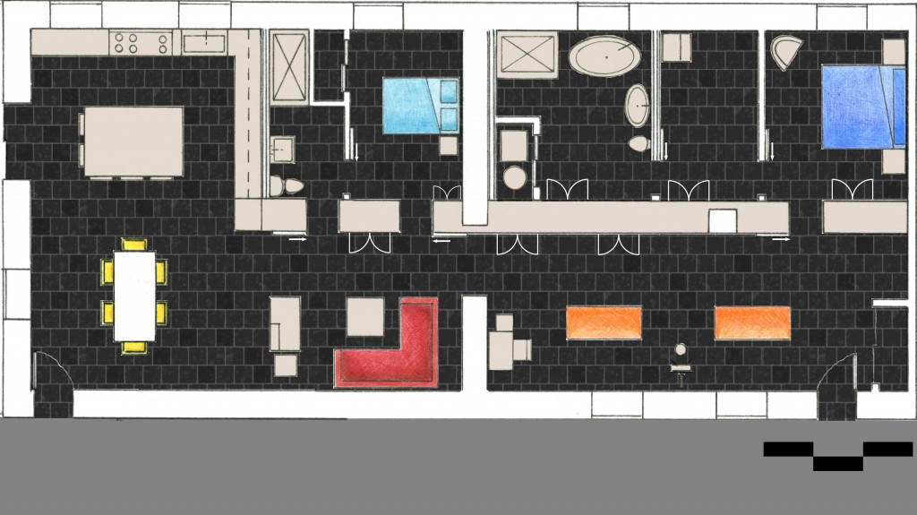 graphic contempo floor plan